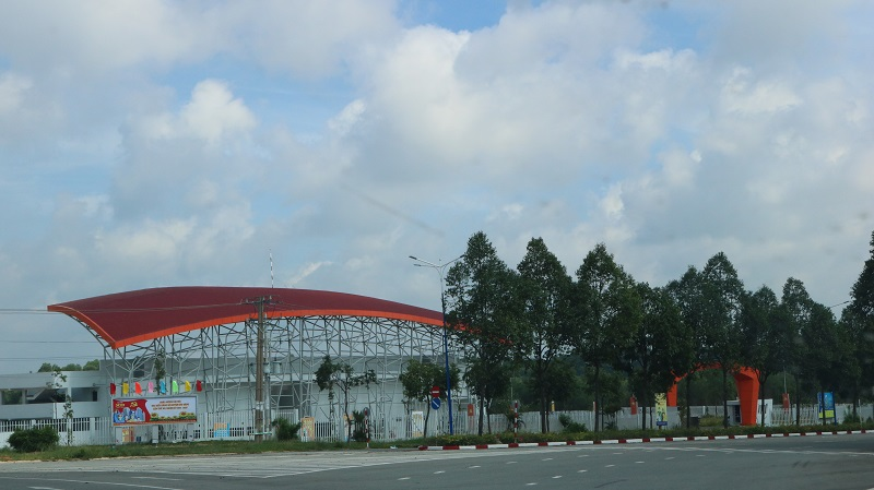 Trung tâm thể thao huyện Bàu Bàng – Thiết kế hiện đại