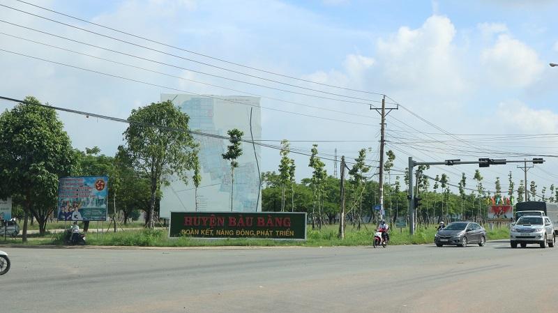 Huyện Bàu Bàng 2020